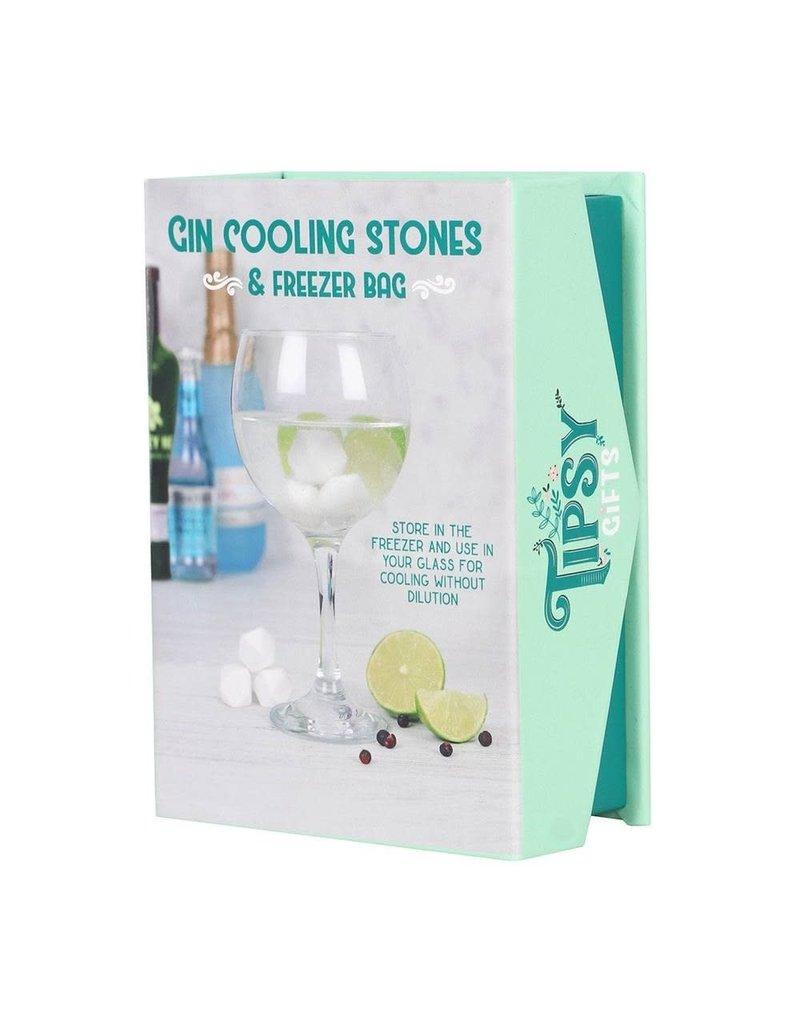 Jones Home & Gift herbruikbare ijsblokken - marmer