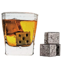 Invotis reusable ice cubes - dice