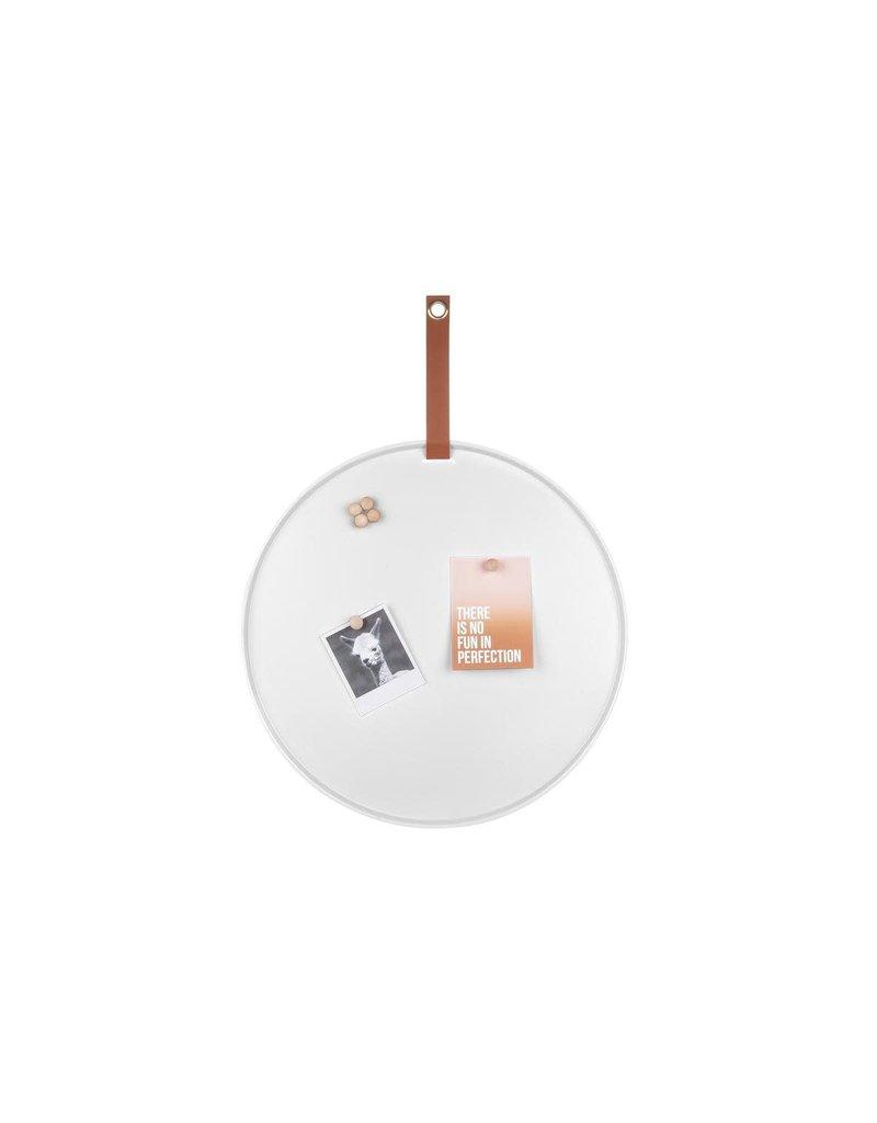 Present Time memo board - perky (white)
