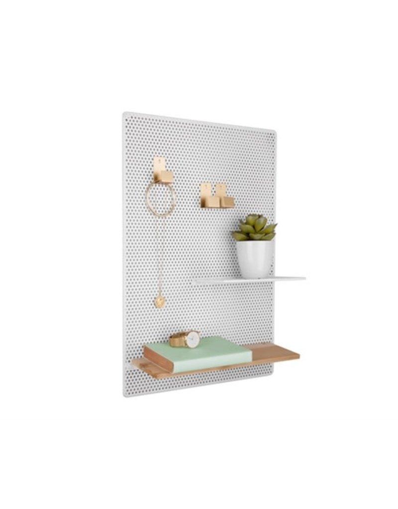 Present Time memo board - perky mesh (white)