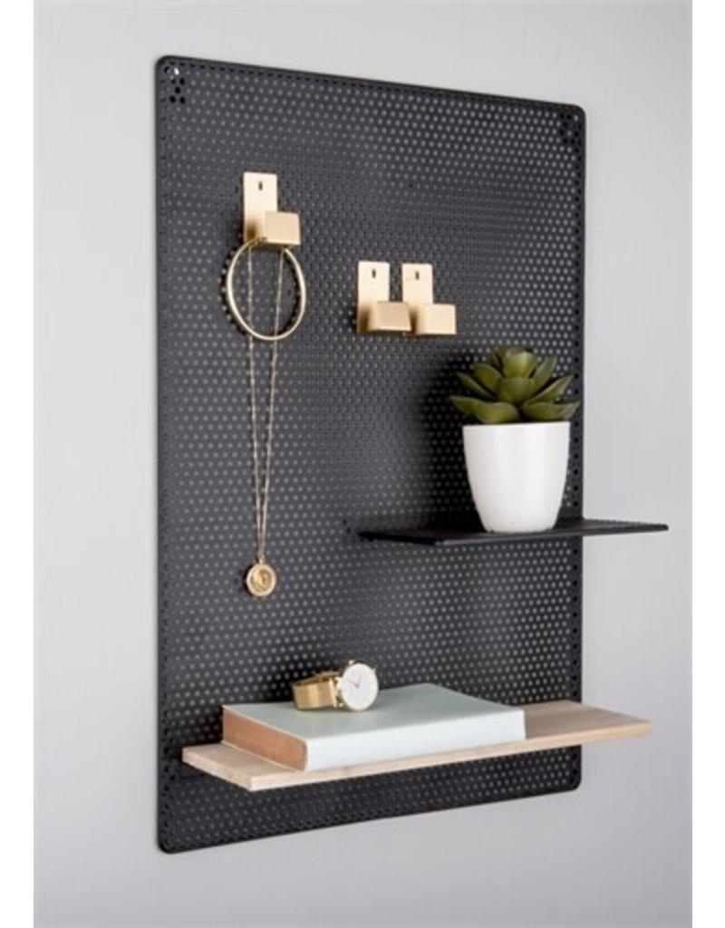 Present Time memo board - perky mesh (black)