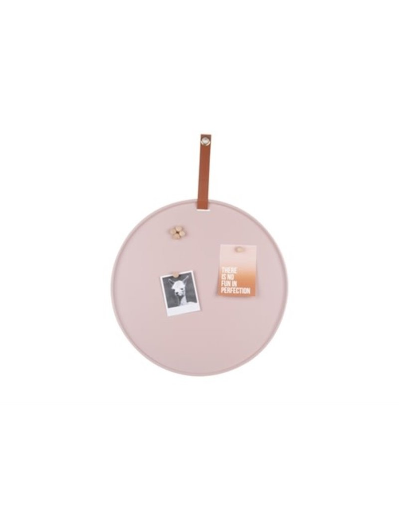 Present Time memo board - perky (light pink)