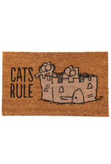 Puckator doormat - cats rule
