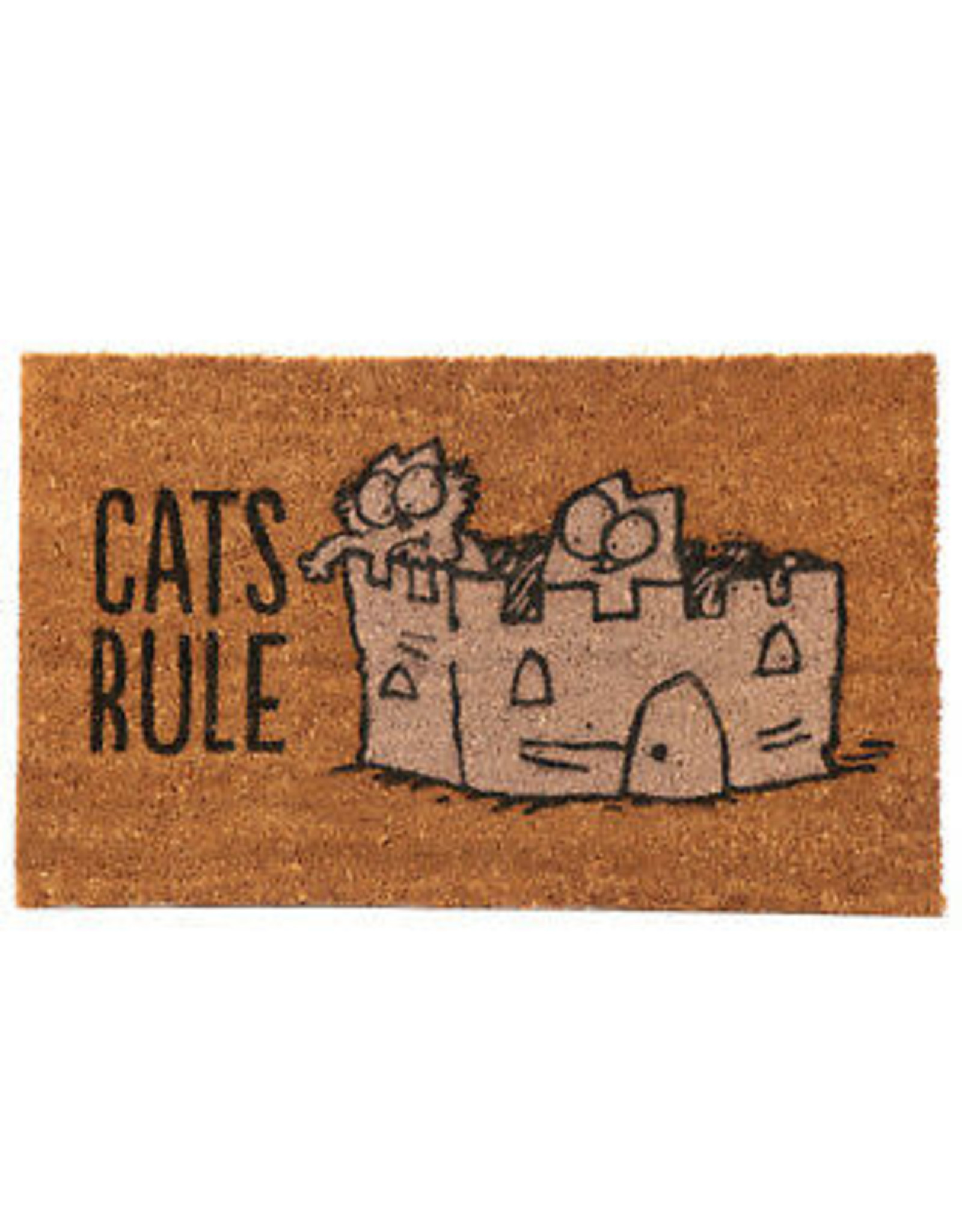 Puckator doormat - cats rule