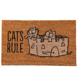 deurmat - cats rule
