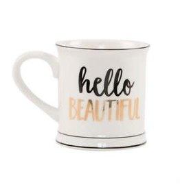 Sass & Belle mug - hello beautiful