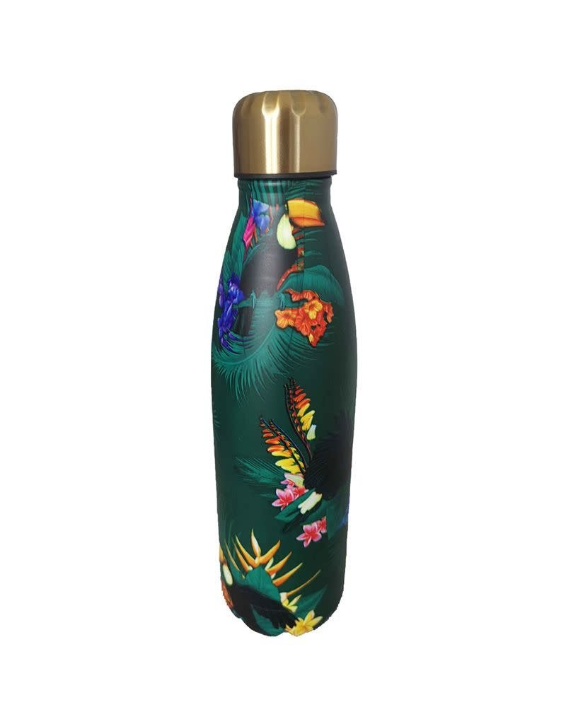Puckator drinking bottle - tropical