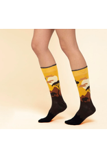 Moustard socks - giraffe  (36 - 40)