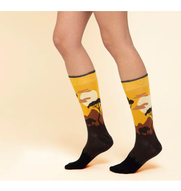 Moustard socks - giraffe  (36 - 40)