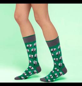 Moustard sokken - panda (36 - 40)