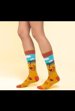 Moustard socks - lion (41 - 46)