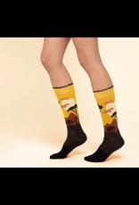 Moustard socks - giraffe  (41-46)