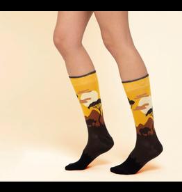 Moustard sokken - giraf (41-46)