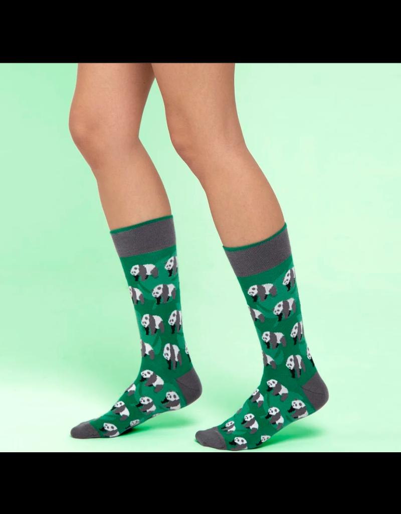 Moustard sokken - panda (41-46)