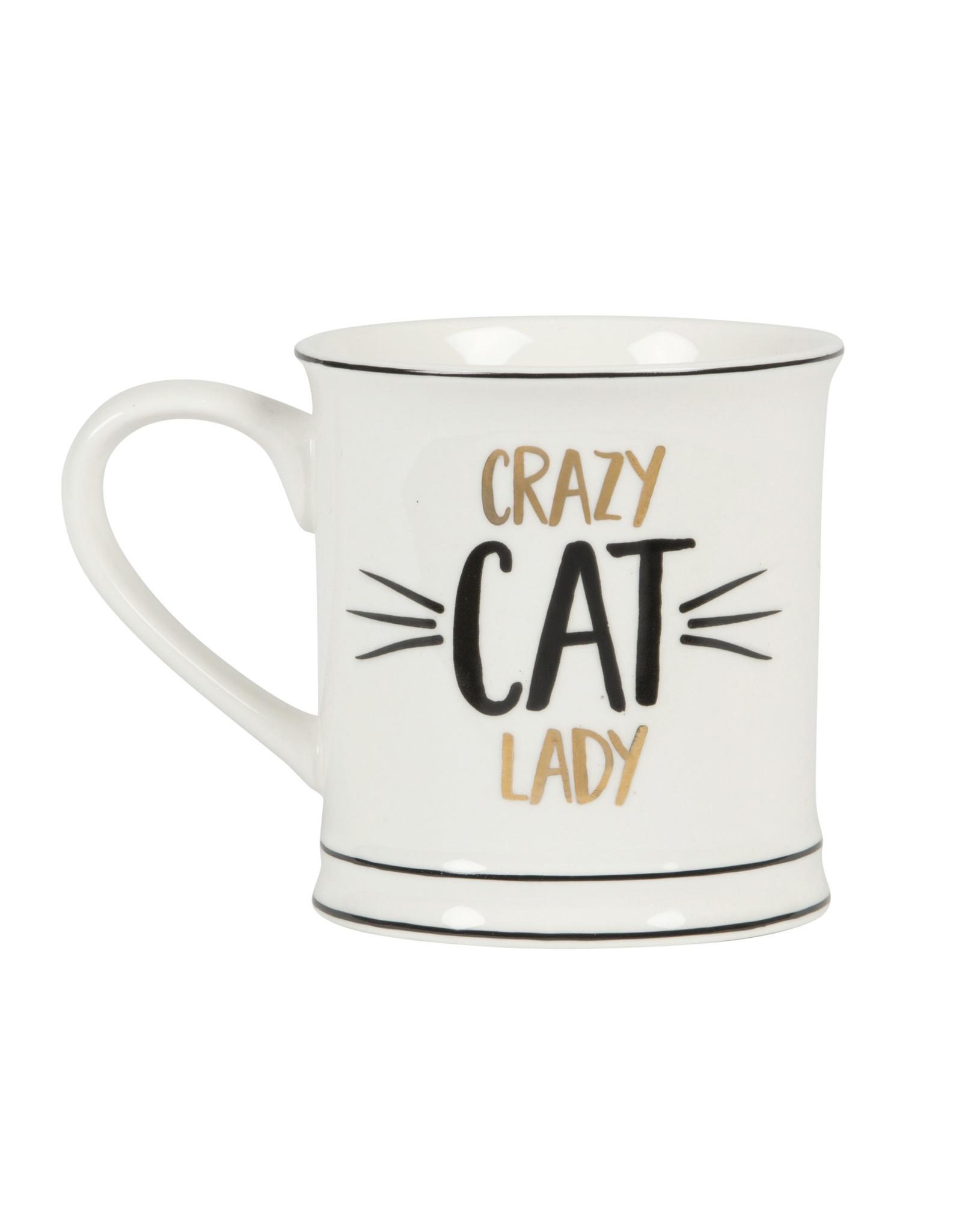 mug - crazy cat lady