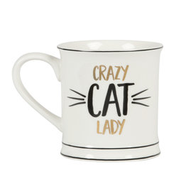 Sass & Belle mug - crazy cat lady