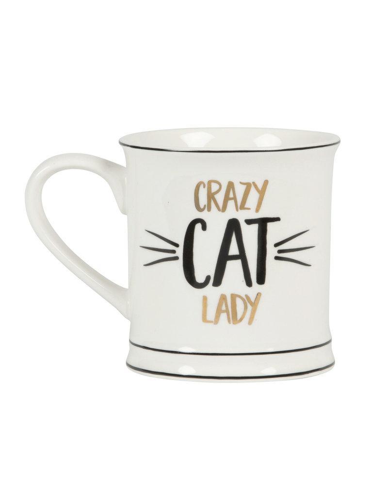 Sass & Belle mug - crazy cat lady