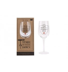 CGB wine glass - for medicinal purposes only
