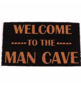 La Finesse doormat - welcome to the man cave