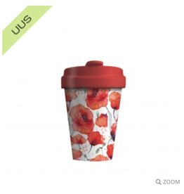 Chic Mic drinkbeker - poppy flowers