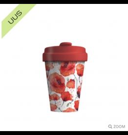 Chic Mic travel mug - poppy flowers