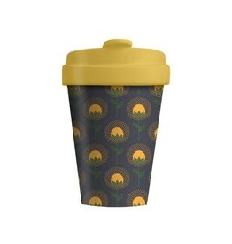 Chic Mic travel mug - sunflowers