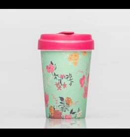 Chic Mic travel mug - flower pattern
