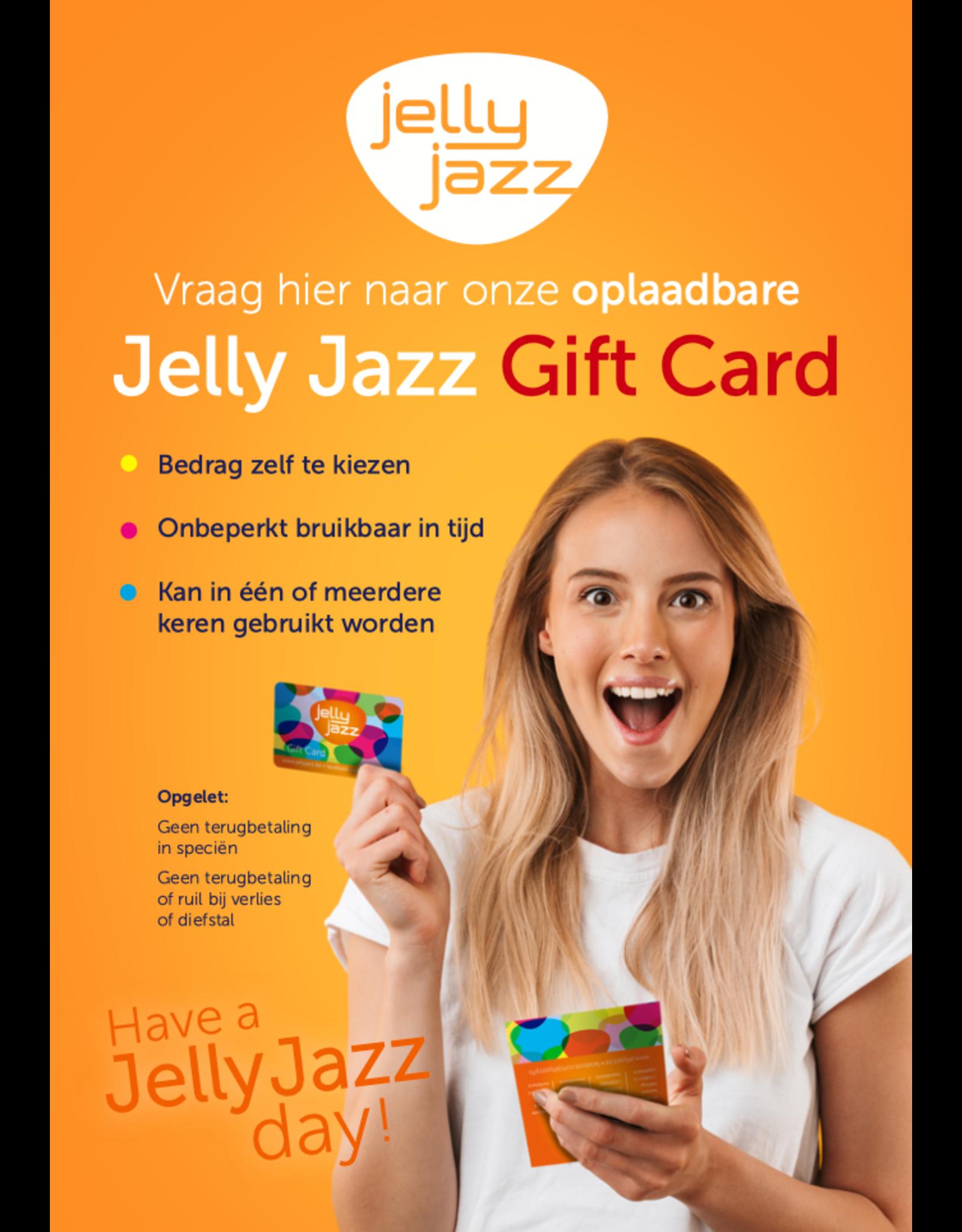 Jelly Jazz cadeaubon €50