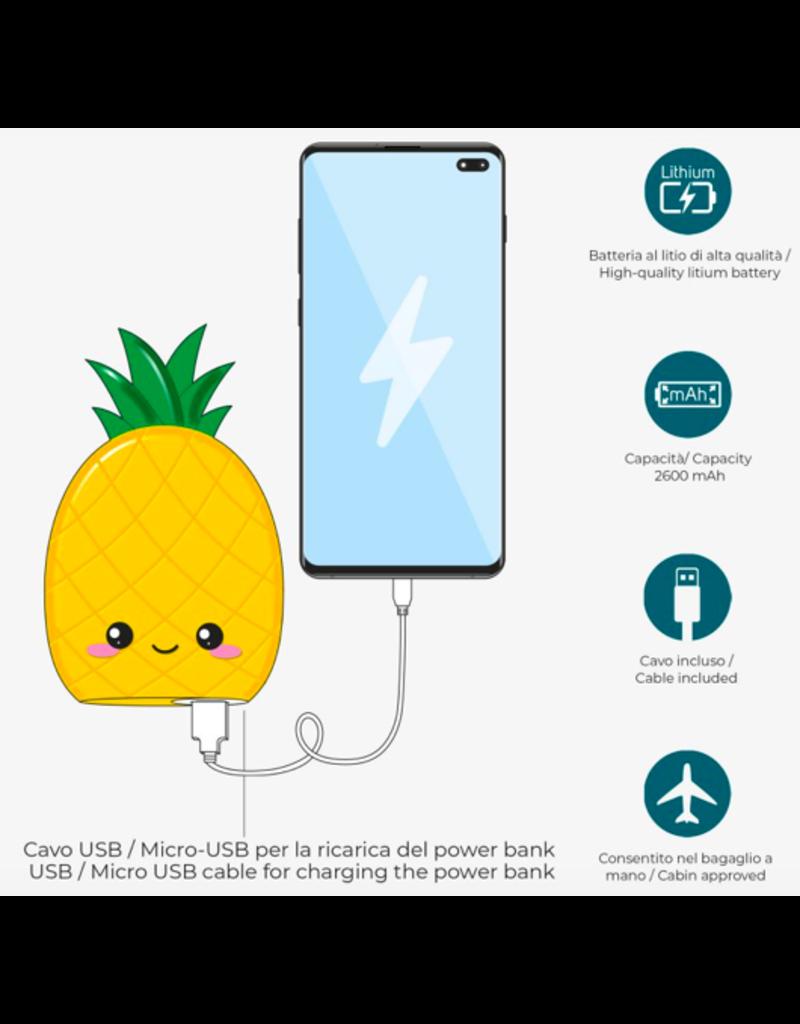 Legami power bank - ananas