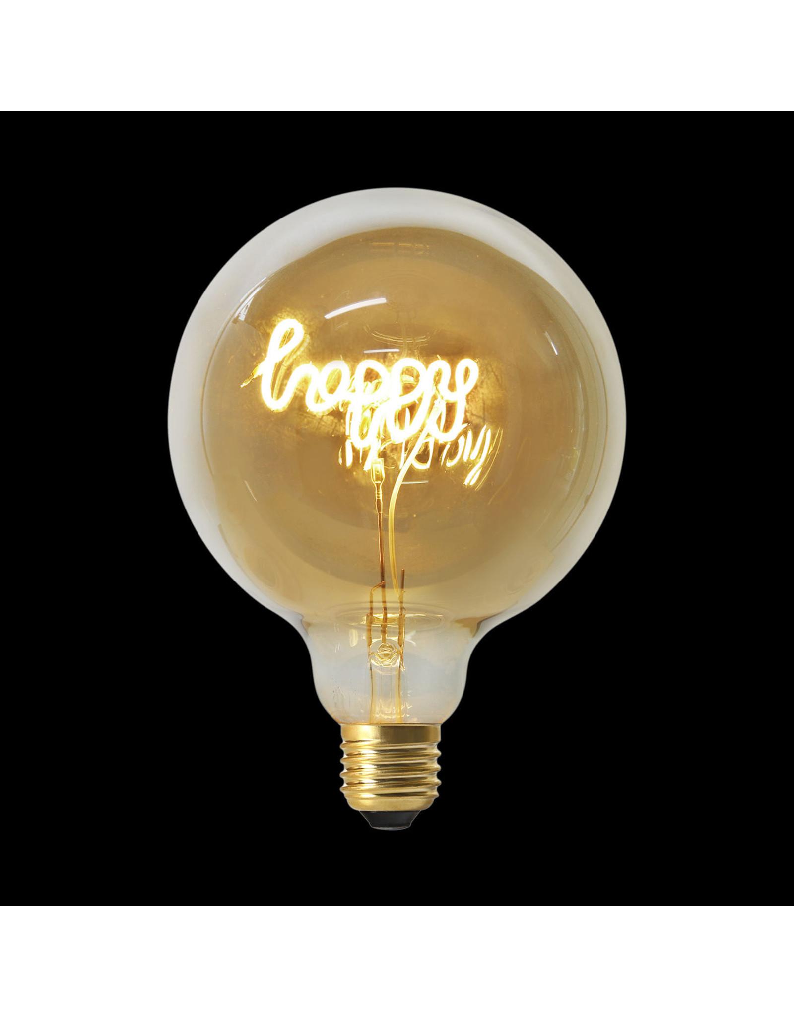 bulb - happy