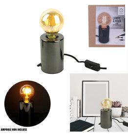 CMP lampvoet - zwart