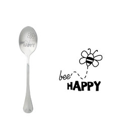 message spoon - bee happy