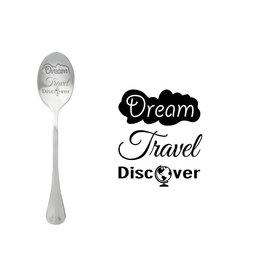 Style De Vie message spoon - dream, travel, discover