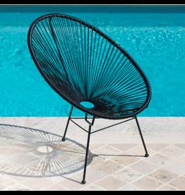 Le Studio armchair - acapulco (black)