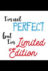 Jelly Jazz mug - I'm not perfect