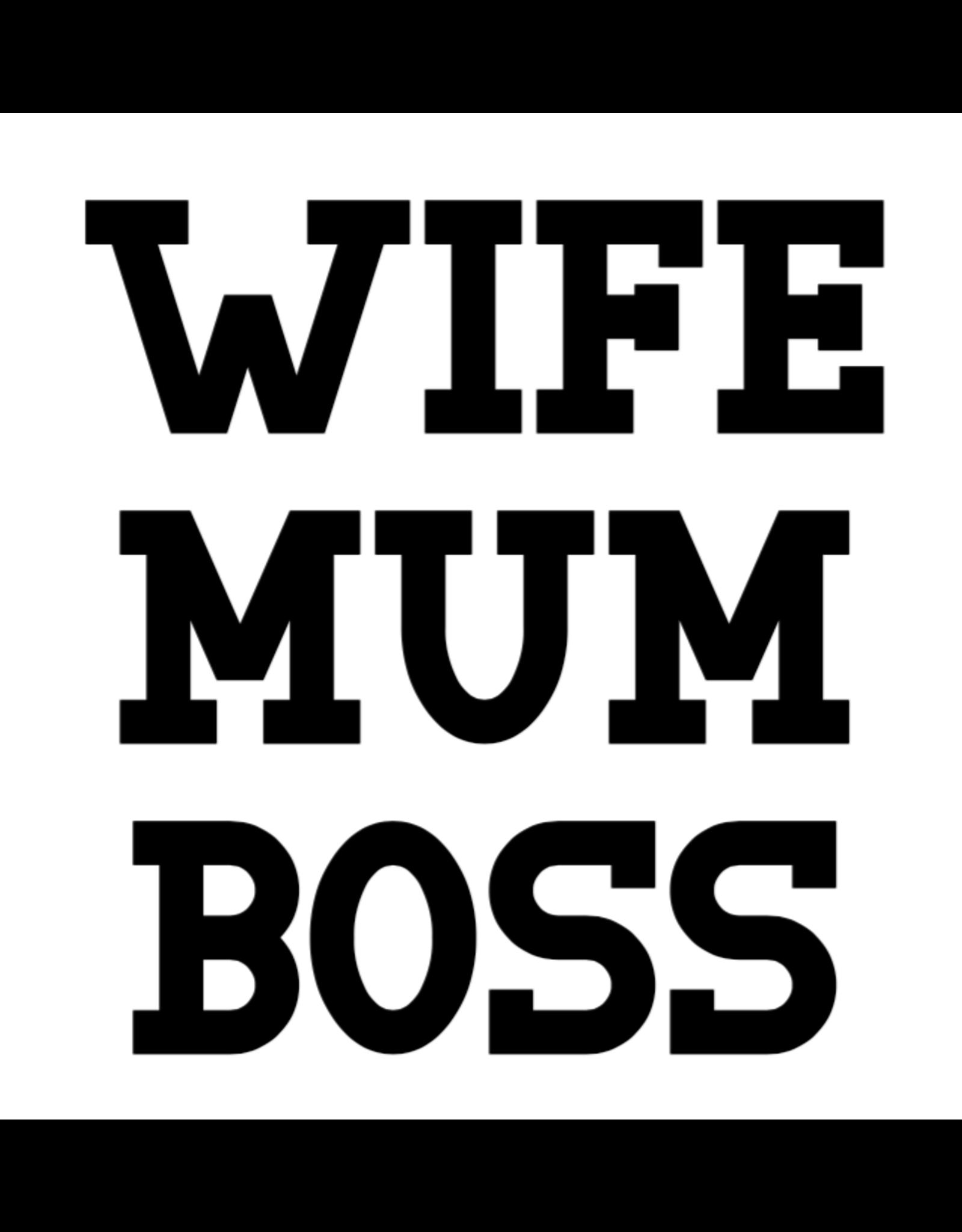 Jelly Jazz mug - Wife, Mum, Boss