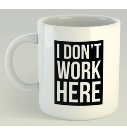 Jelly Jazz mug - I don't work here