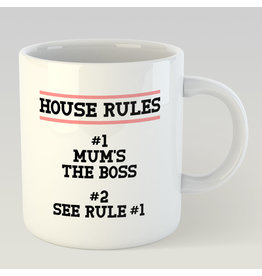 Jelly Jazz mug - house rules