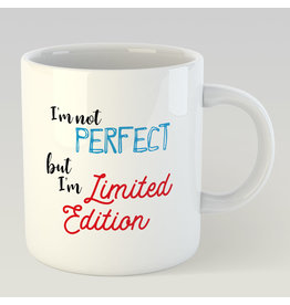 Jelly Jazz mug - I'm not perfect