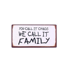La Finesse magneet - you call it chaos, we call it family