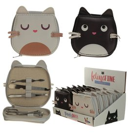 Puckator manicure kit - feline cat