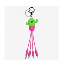 Legami multiple charging cables - cactus