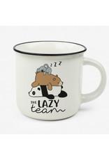 Legami mug puccino - lazy team