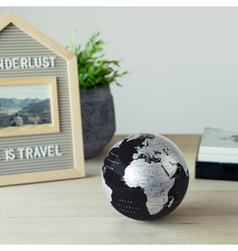 Balvi globe - magic rotatory (black)