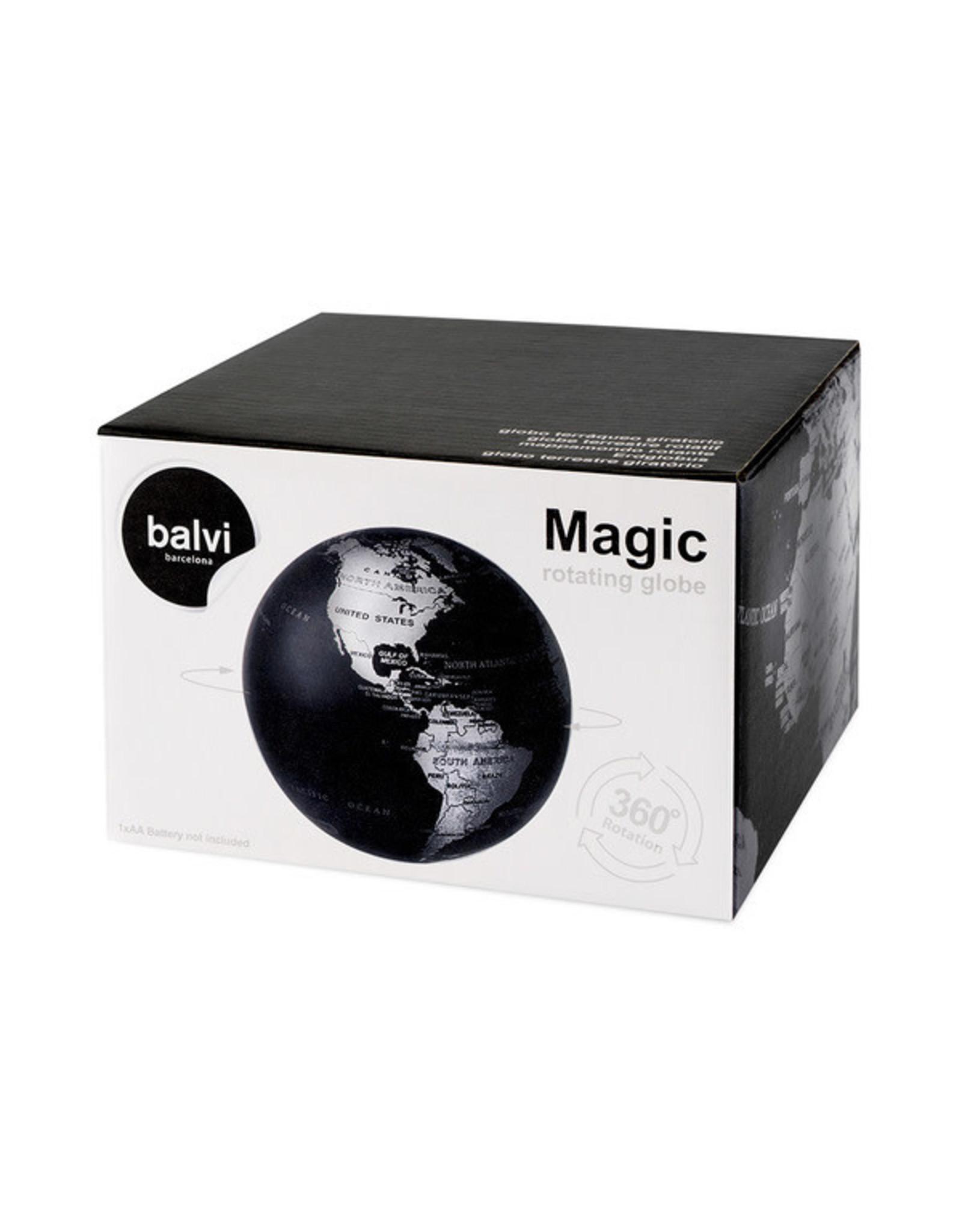 globe - magic rotatory (black)