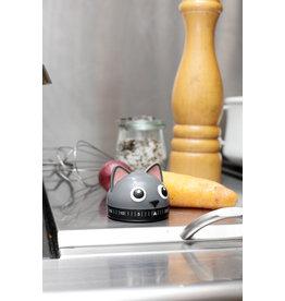 Kikkerland kitchen timer - cat