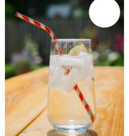 reusable straws - stripes
