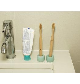 Kikkerland toothbrush - bamboo - nudie