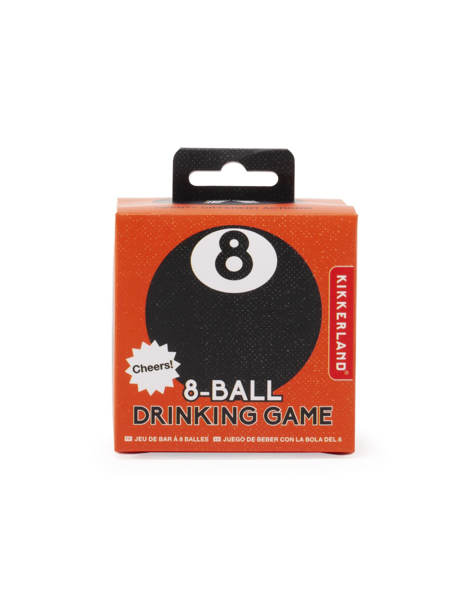 Kikkerland drankspel - 8 ball