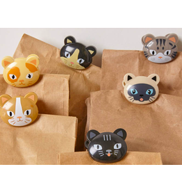 Kikkerland bag clips - cat